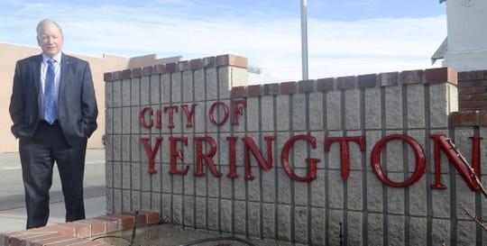 Robert Switzer is Yerington's new city manager.