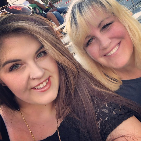 Madison Koontz-Winkkelman with her mom Connie Koontz. Madison called her mother her best friend. On Jan. 10 Connie Koontz was found shot to death in her home in Gardnerville.  Wilber Martinez-Guzman, a 19 year old, is accused of killing her and three others.