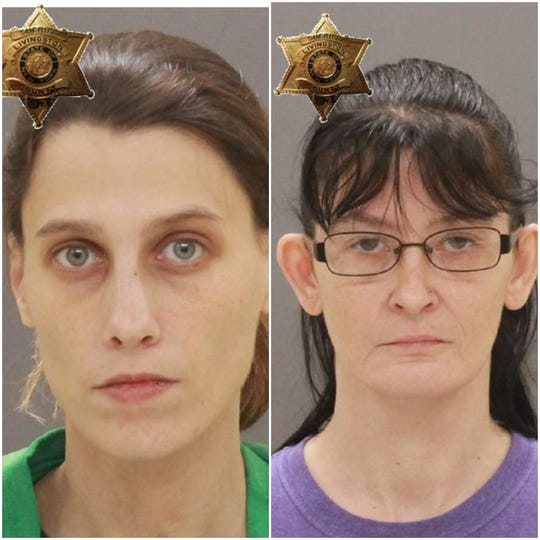 Candace Ellis, 33, and Tosha Mercado, 36, were charged in connection to several beating and robbery incidents in York in the last few weeks.