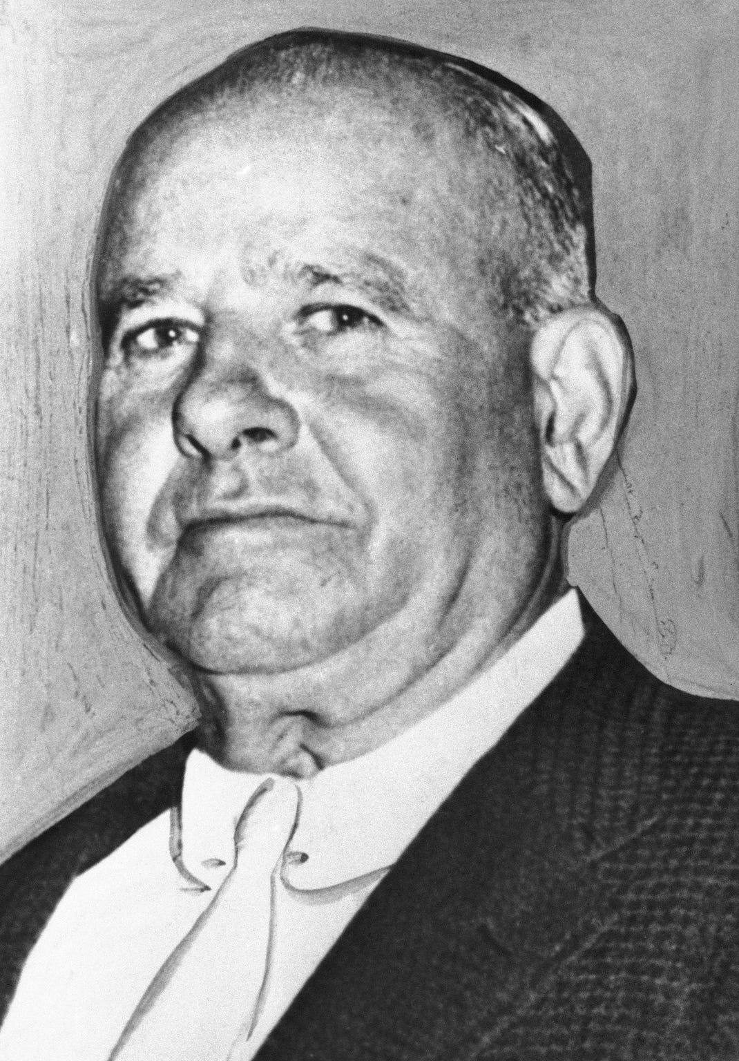"Stefano Magaddino, shown in 1965, identified as ""irrefutable lord paramount"" of organized crime in Buffalo, Niagara Falls and Toronto, died of heart failure in a Lewiston, New York, hospital on Friday, July 19, 1974. He was 82. (AP Photo)"