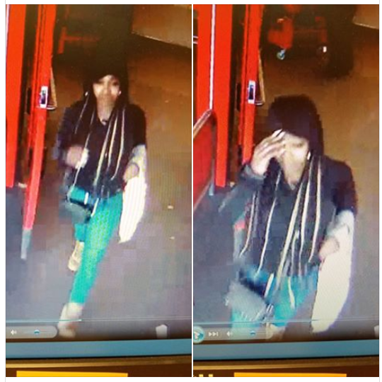 Redding police are asking the public to help identify this woman who, according to officers, is a suspect in credit card fraud.