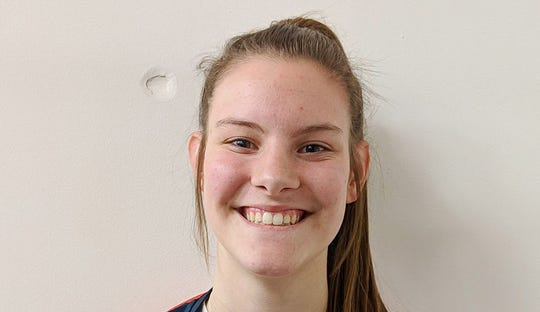 Kennedy basketball player Kalyssa Kleinschmidt