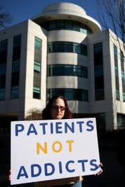 Chronic pain patients rallied across the country Jan. 29 to fight against restrictive laws on opioids that patients say hurt those who rely the medications to live with more manageable pain.