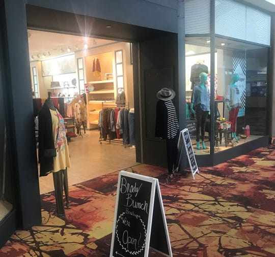 Storefront of Brady Bunch Boutique at Sunset Mall, 4001 Sunset Drive, Tuesday, Jan. 29, 2019.