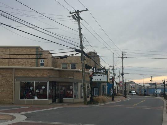 The Island Movie Theatre on Chincoteague, Virginia on Dec. 10, 2019.