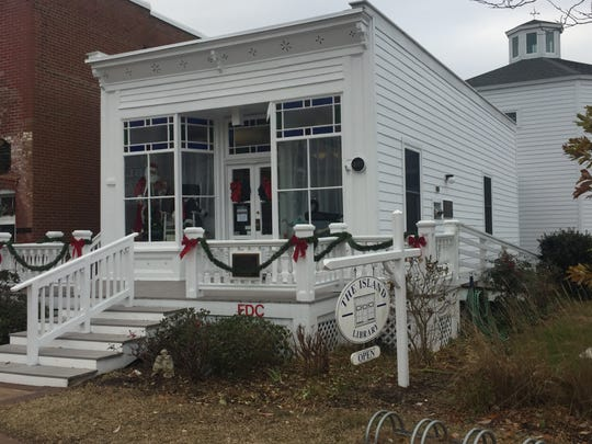 The Island Library on Chincoteague, Virginia on Dec. 20, 2019.