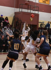 Washington High School's Danasia Roberts scored her 2,000th point against Pocomoke on Tuesday, January 29, 2019. Danasia is the first person to ever reach 2,000 points in Washington basketball history.