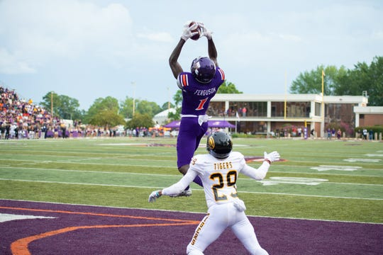 NSU wide receiver Jazz Ferguson has an invite to this year's NFL Scouting Combine.