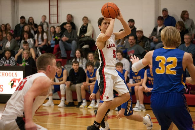 St. Mary point guard Conor Libis is averaging 27.6 points per game this season.