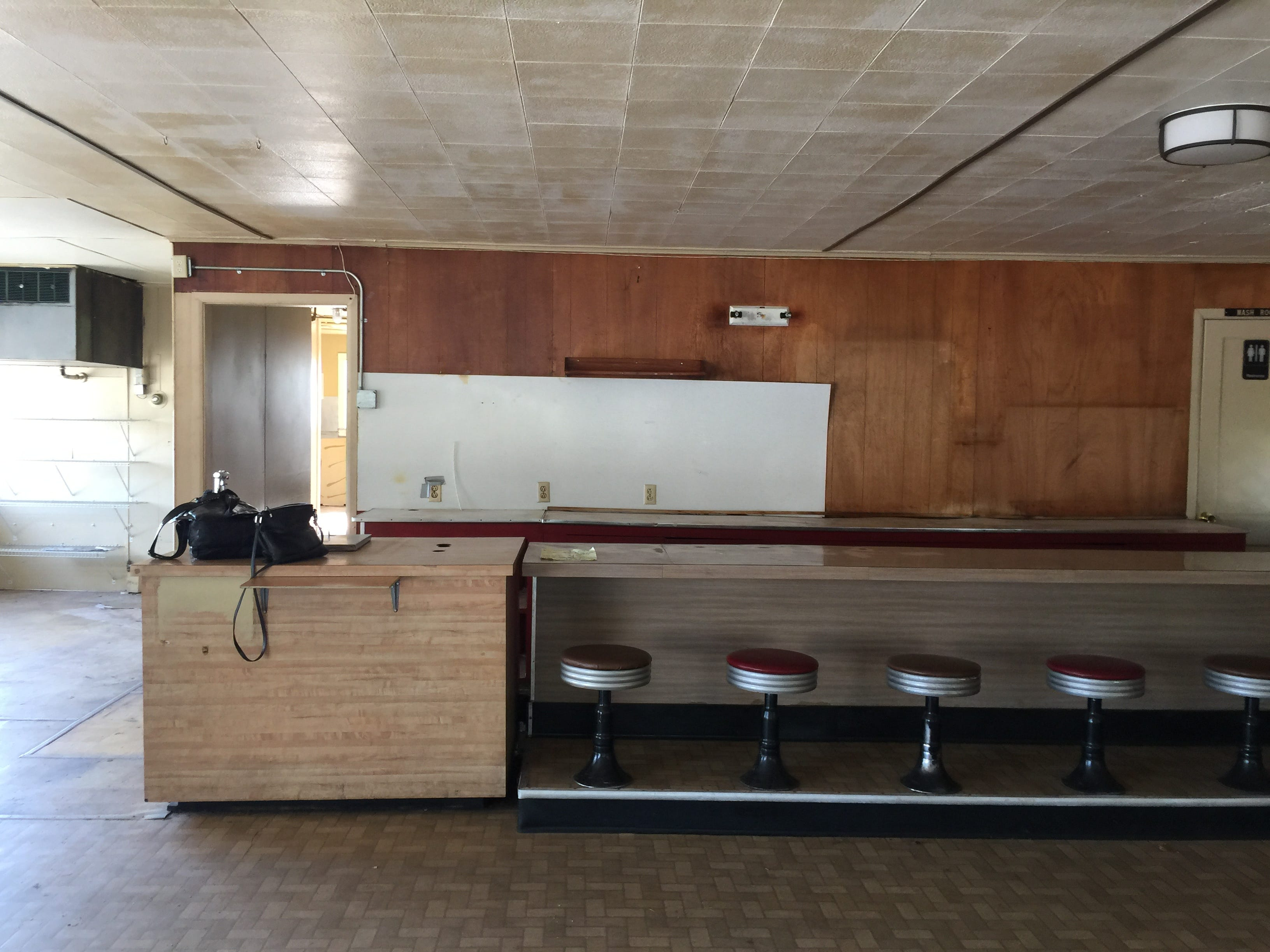"""Jeannie Breshears, new owner of what was once Aunt Martha's Pancake House, says the ceiling has been raised and the building -- inside and outside -- will be """"unrecognizable."""""""