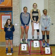 Buffalo Gap's Brianna Reep, a freshman on the school's wrestling team, won the championship in her class at the Virginia Girls Championship Tournament.