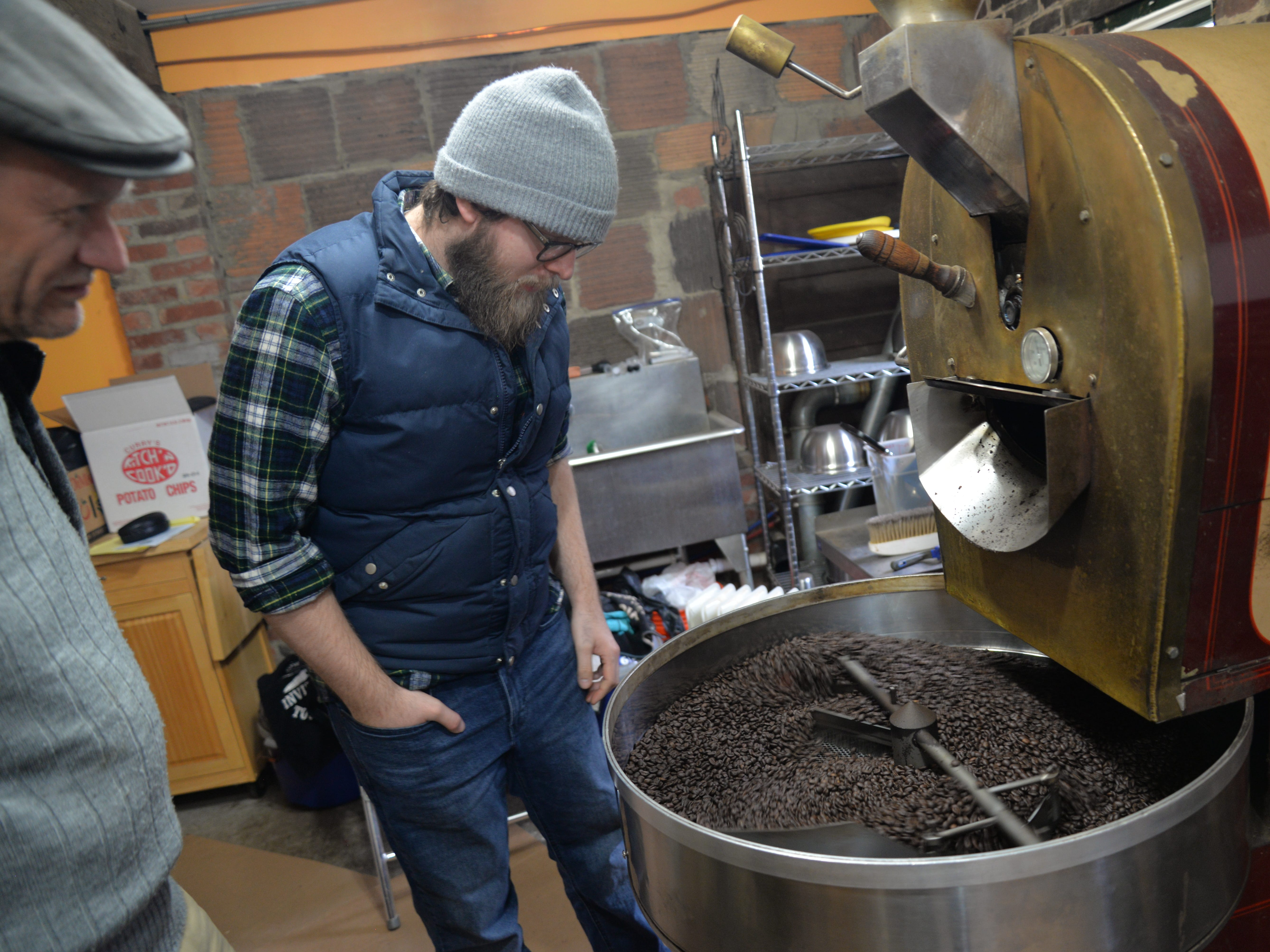 Cranberry's owner Joseph White purchased Staunton Coffee Company in mid-2018. He brought on a new roaster and general manager Beau Lafon and is planning to expand the company's footprint in the Shenandoah Valley.