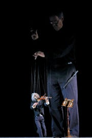 """In the performance """"Life in Motion,"""" Joseph Cashore presents his collection of marionette masterworks."""