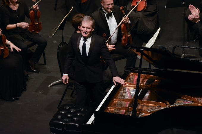 "Guest artist Philippe Bianconi performed  Edvard Grieg's ""Piano Concerto in A Minor"" at Atlantic Classical Orchestra's Masterworks I program, ""Romance & Revolution,"" at Eissey Campus Theatre at Palm Beach State College."