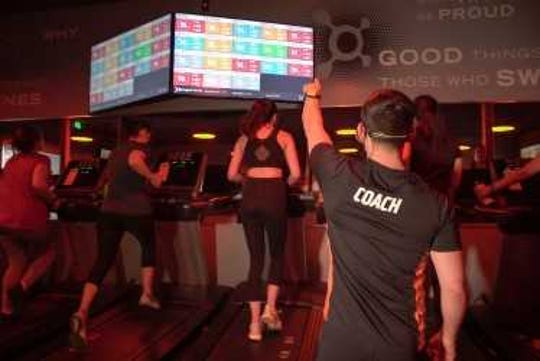 Orangetheory offers a 60-minute, five-zone heart rate monitored interval-training which combines technology with fitness.