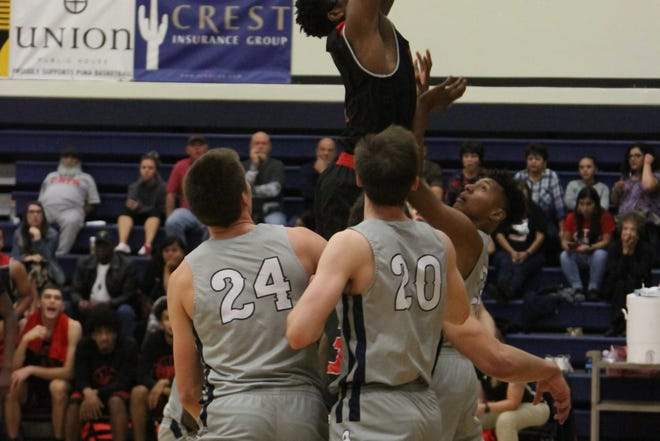 Former Americas basketball player Jamaure Gregg is having a solid season for Cochise College in Arizona.