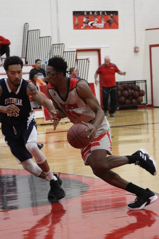 Former Americas basketball player Jamaure Gregg is having a strong season for Cochise College.