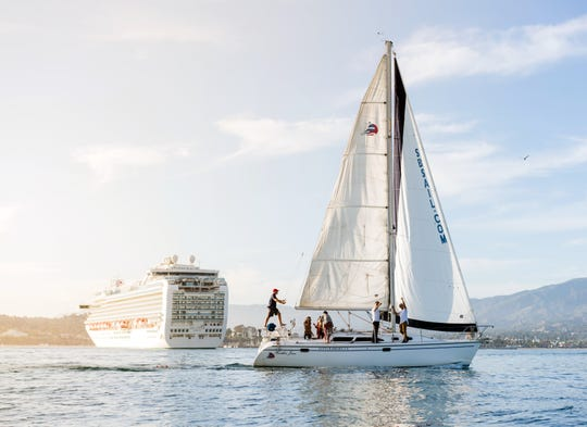 To enhance tourism, Santa Barbara has made a concerted effort to attract cruise ships in the past decade. However, the city demands tough environmental requirements and even limits the times of the year that ships are invited.