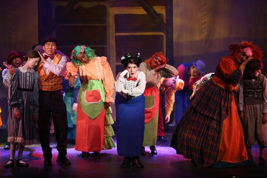 "The musical ""Mary Poppins"" will be performed through Feb. 24 at the Moorpark High Street Arts Center."