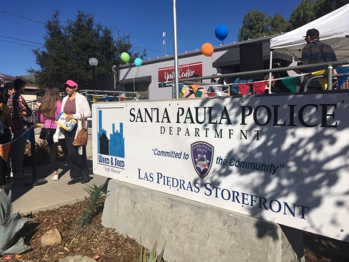The new youth center is at the Santa Paula Police Department's Las Piedras storefront.