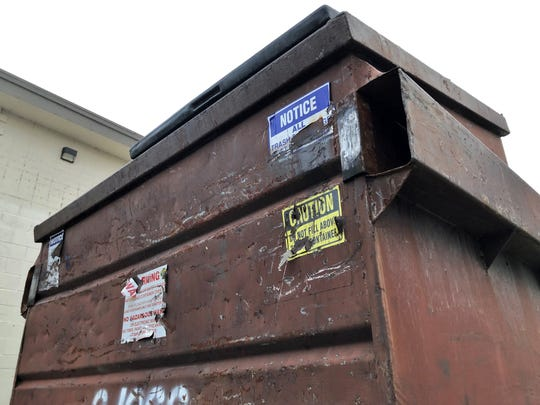 File photo of a dumpster