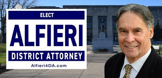 Victor Alfieri's promotional photo for his campaign for Rockland district attorney.