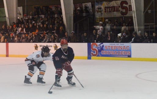 Stephen Stackhouse netted five goals to give Stepinac a 5-3 win over Xaverian last Sunday, earning lohud player of the week honors.