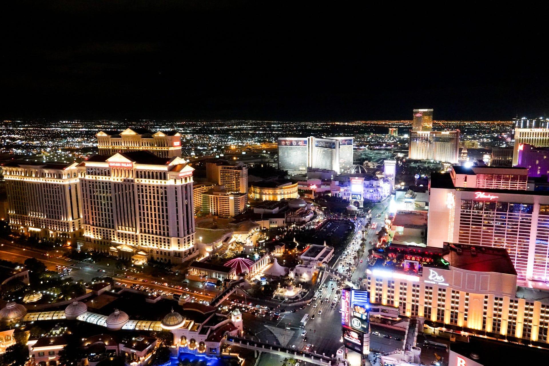 Las Vegas Strip: Best places to get a great photo