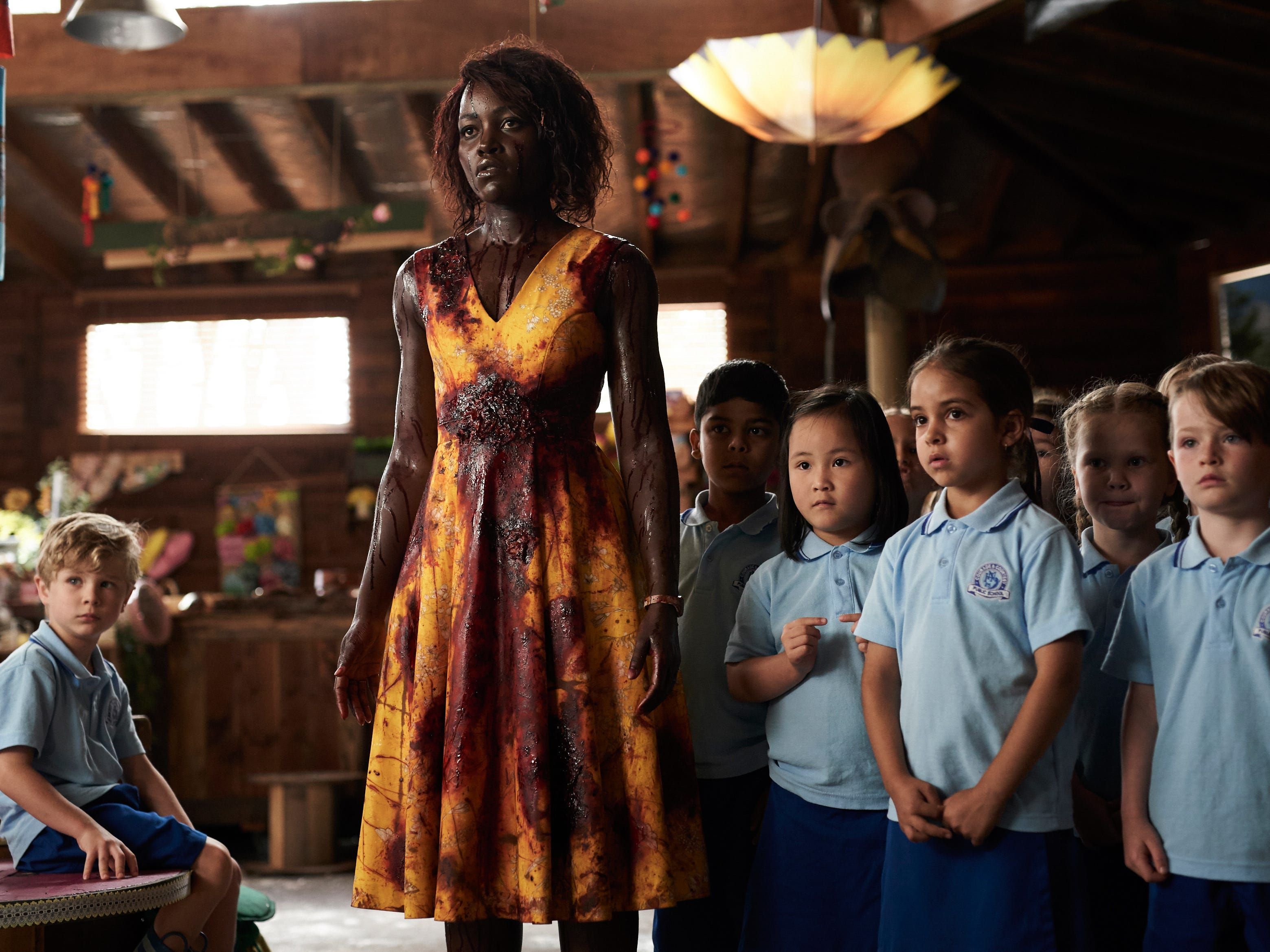 Lupita Nyong'o had so much fun fighting zombies, singing Taylor Swift in 'Little Monsters'