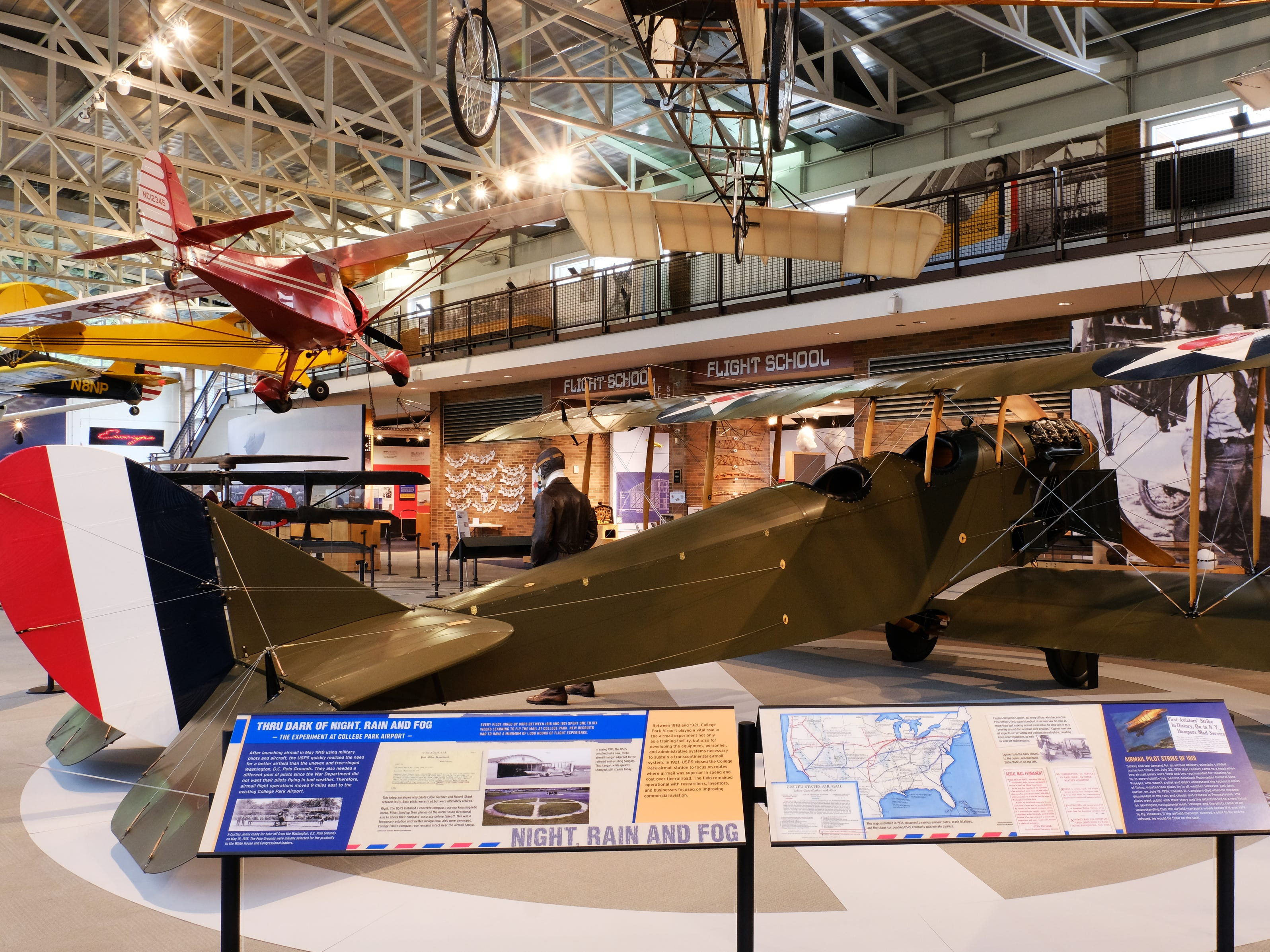 To celebrate the 100th anniversary of U.S. Post Office Airmail Service, Maryland's College Park Aviation Museum and the College Park Airport (which just so happens to be the world's oldest continuously operating airport) have joined forces to recognize the days of sending mail through the skies.