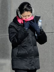 Extremely cold temps across the country pose a special challenge to airline employees and others who work outdoors.