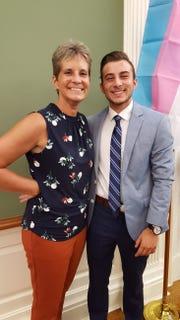 Melissa and Aidan DeStefano in Harrisburg, Pennsylvania. August 2018.