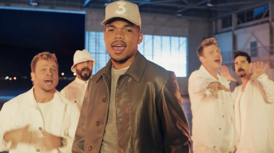 Ad Meter 2019: Chance the Rapper and the Backstreet Boys team up to introduce the new, spicer Doritos product.