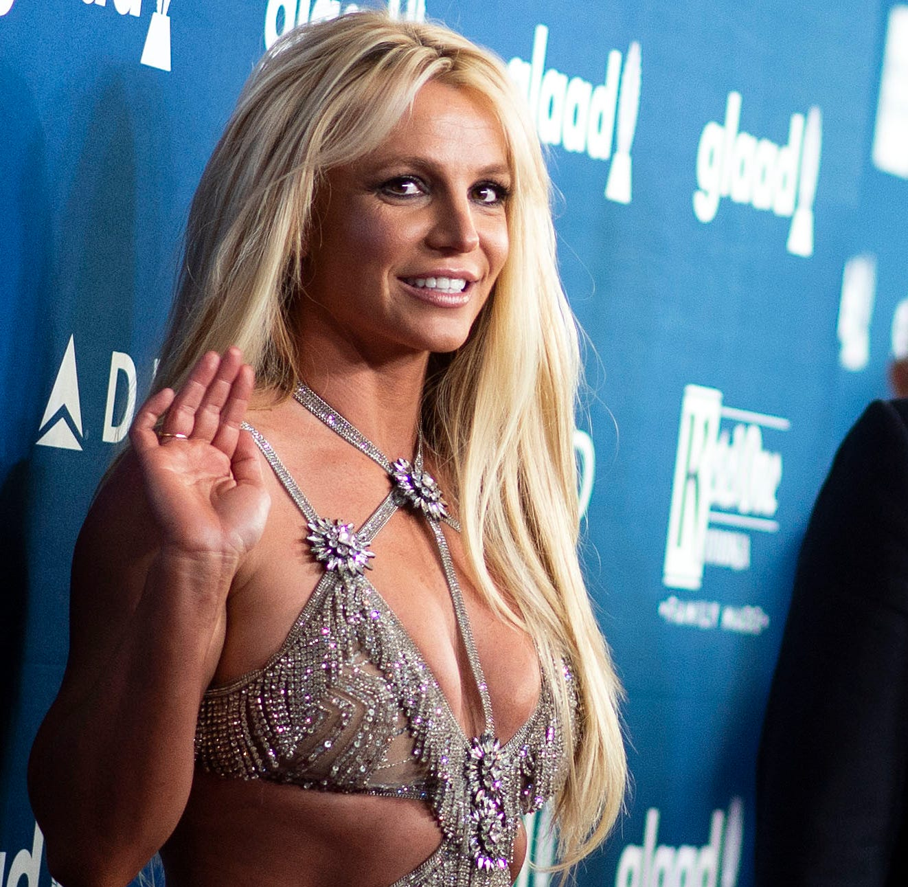 (FILES) In this file photo taken on April 12, 2018, singer Britney Spears attends the 29th Annual GLAAD Media Awards at the Beverly Hilton in Beverly Hills, California. - Pop singer Britney Spears has cancelled her residency in Las Vegas to care for her sick father, putting off her career indefinitely,  she said Friday, January 4, 2019. (Photo by VALERIE MACON / AFP)VALERIE MACON/AFP/Getty Images ORG XMIT: Britney S ORIG FILE ID: AFP_1BZ49R