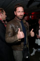"Gerard Butler attends the new docuseries ""Wu-Tang Clan: Of Mics & Men"" celebration."