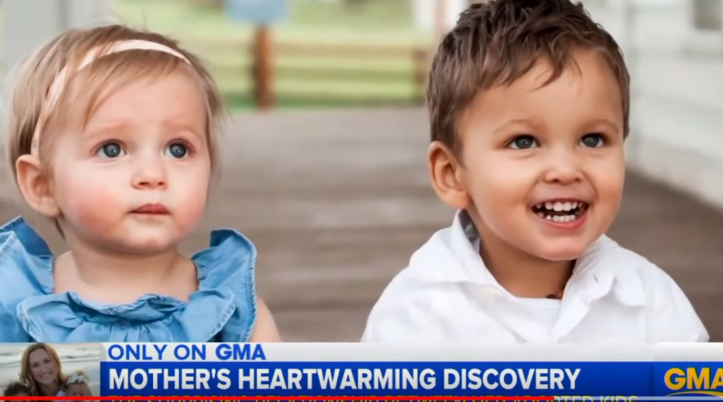 The Surprising News About Childrens >> Mom Surprised Two Adopted Children Are Biological Brother And Sister