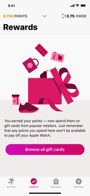 You can defray the cost of an Apple Watch through the rewards earned through Aetna's Attain program.