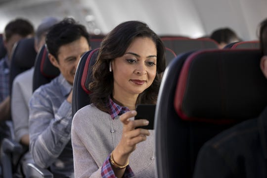 American Airlines has increased its in-flight entertainment options. Apple Music customers can now stream music for free.