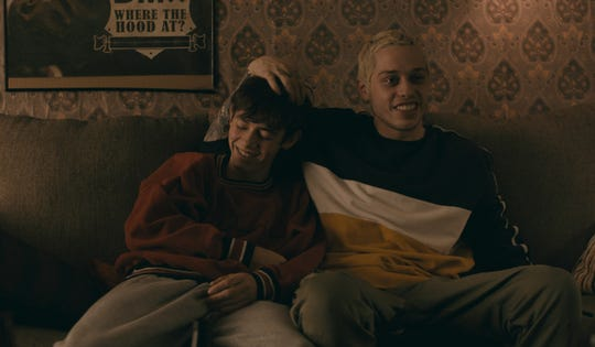 "Mo (Griffin Gluck, left) and Zete (Pete Davidson) are unlikely best friends in coming-of-age comedy ""Big Time Adolescence."""