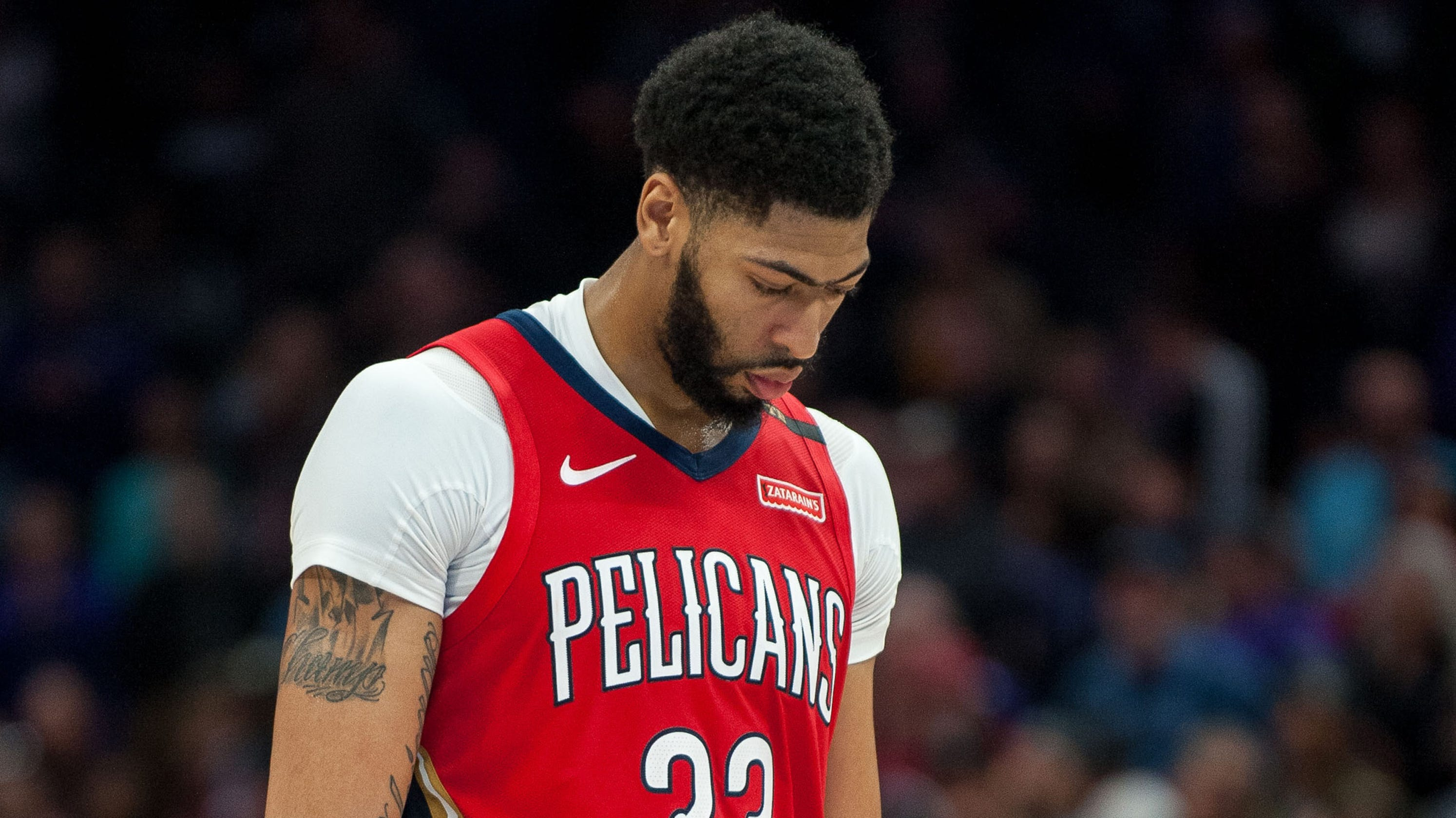 Anthony Davis: Pelicans remove star from hype video ...