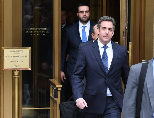 Michael Cohen on May 30, 2018, in New York City.