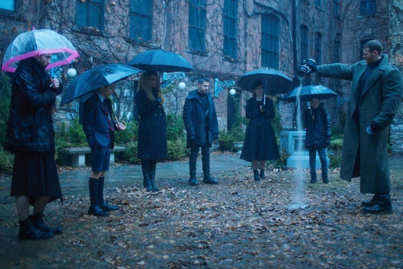 "Watch the ""The Umbrella Academy"" on Netflix on Friday, Feb. 15."