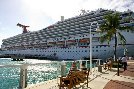 Air pollution levels were tested on board the Carnival Freedom on a cruise to the western Caribbean between April and May, 2018. The pollution level at the running track was found to be eight times higher than at the front of the ship.