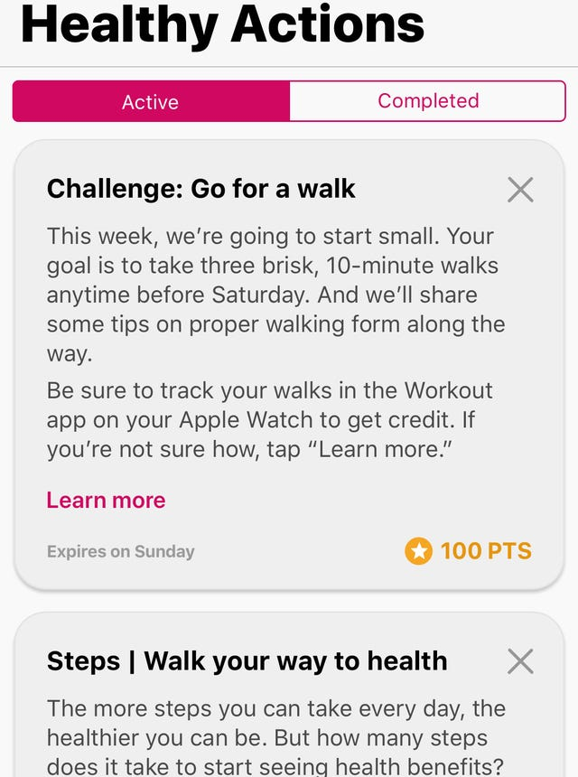 Aetna Attain wellness rewards program may pay for your Apple