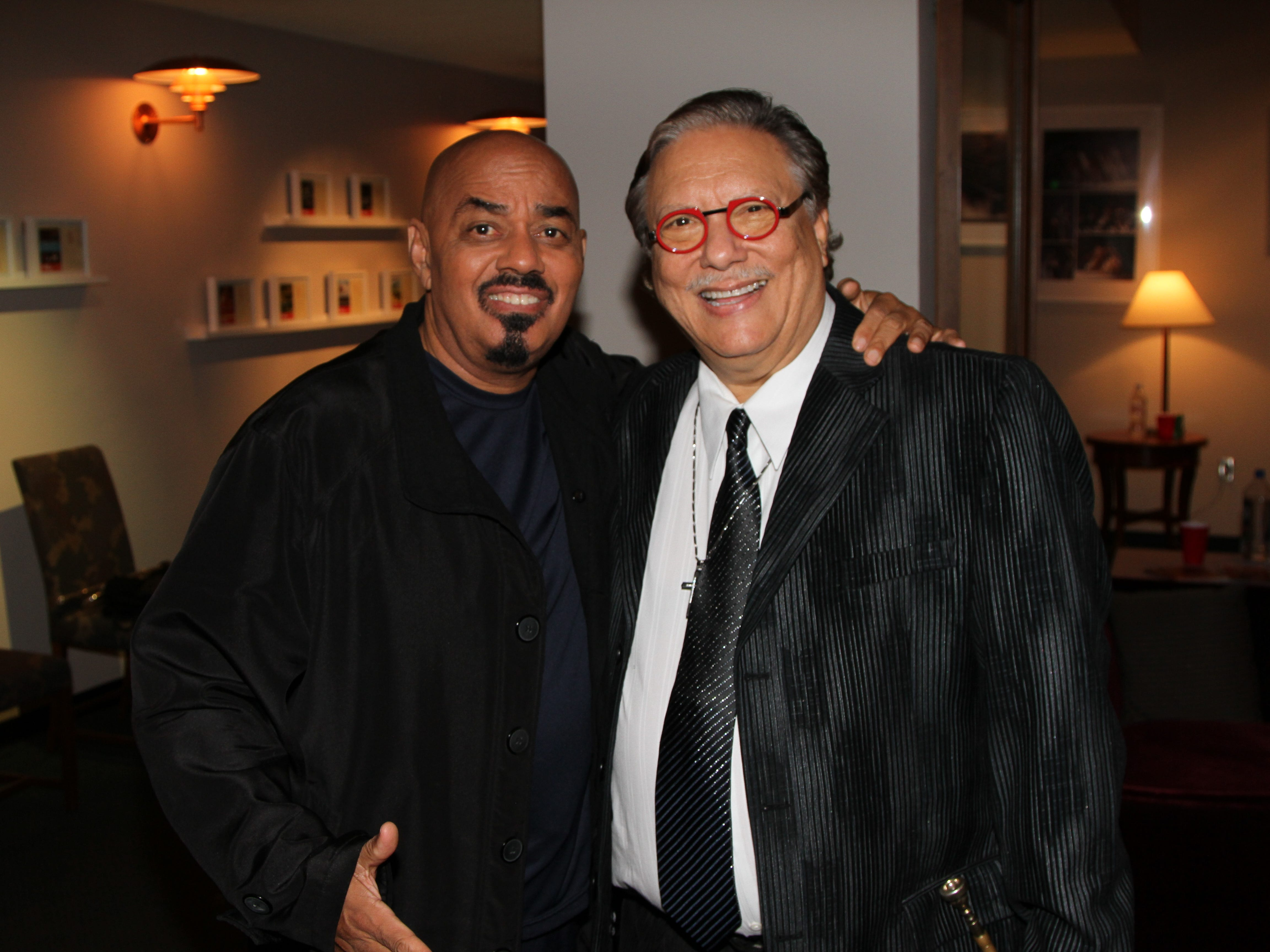"""James Ingram and Arturo Sandoval at Debbie Allen's All Star Gala """"One Night Only"""", Dec., 12, 2013 in Los Angeles."""