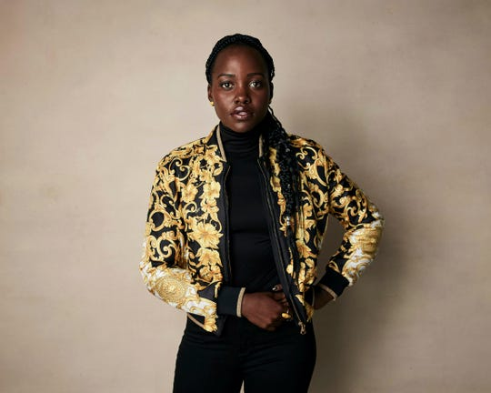 Lupita Nyong'o poses for a portrait in Park City, Utah, on Monday.