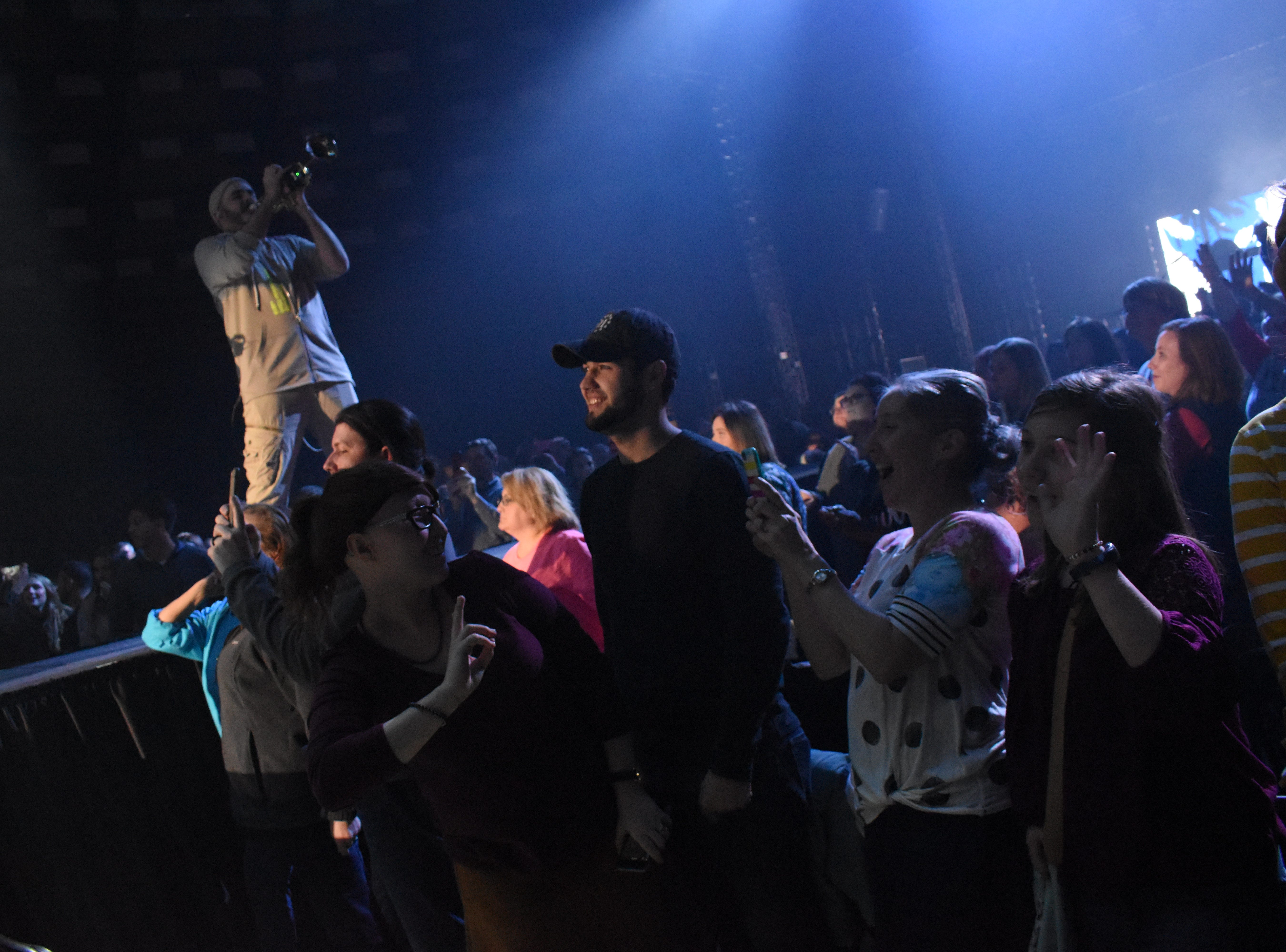"""Grammy-award winner and Christian hip-hop musician TobyMac launch his 2019 """"Hits Deep"""" tour Tuesday night at the Rapides Parish Coliseum. Alexandria is the launch point of the 34-city tour. Other performers who appeared with TobyMac included Jeremy Camp, Jordan Feliz, Ryan Stevenson, We Are Messengers and Aaron Cole. Local dancers from Vicki's Dance Centers danced back up with TobyMac. Out of the 34-ciby tour, This is the only local dance studio to dance on stage with TobyMac."""