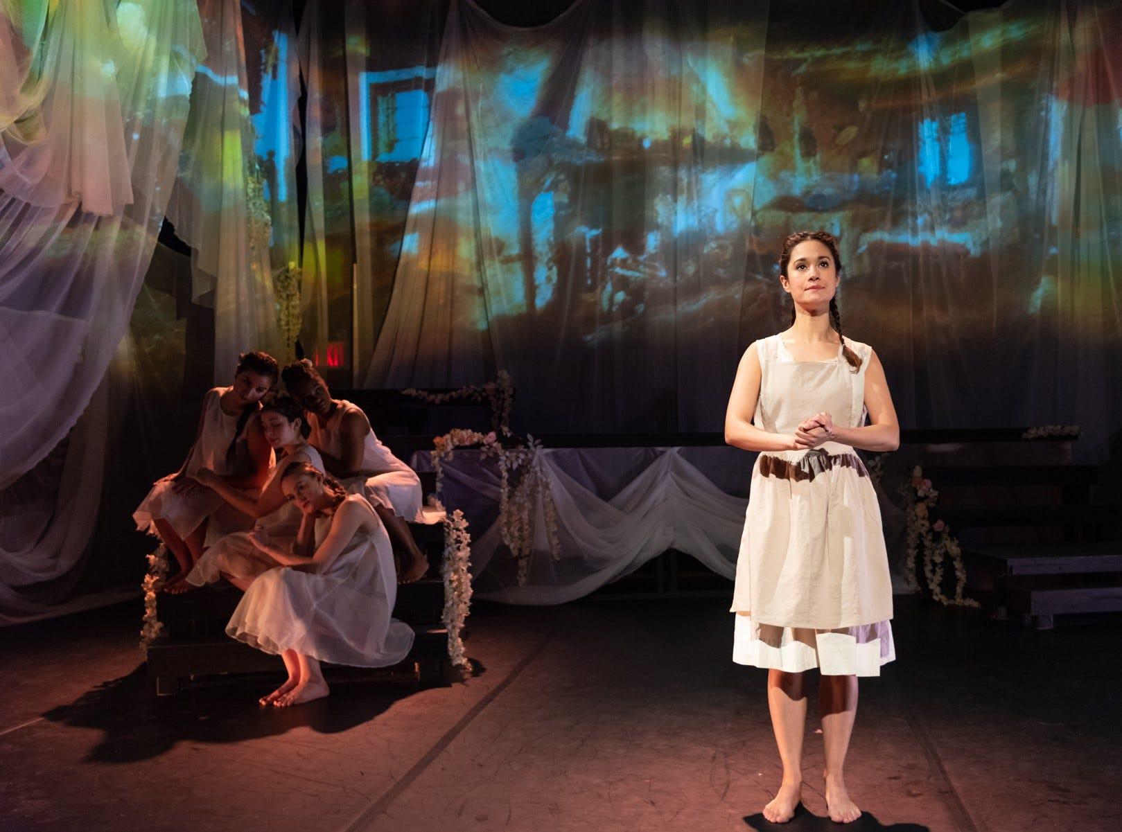 "Ali Ewoldt portrays Marilla Cuthbert in ""Anne Of Green Gables, Part 1"" in Manhattan."