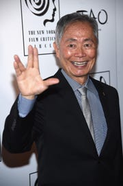 Actor George Takei attends 2015 New York Film Critics Circle Awards at TAO Downtown on Jan. 4, 2016 in New York City.
