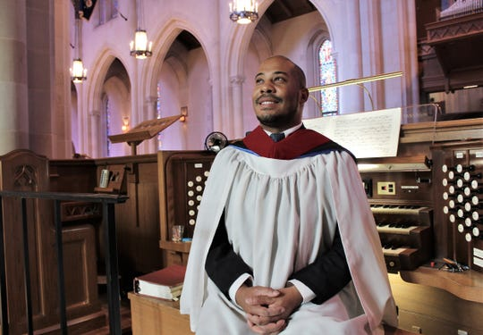 Josiah Montgomery travels from Fort Worth to Abilene to serve as organist at Episcopal Church of the Heavenly Rest.